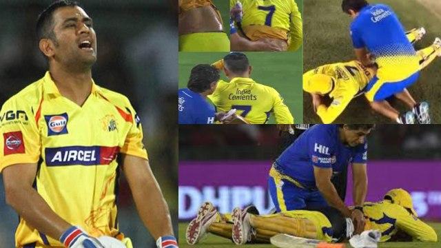 IPL 2019 CSK vs KKR : MS Dhoni speaks about bad back injury after match | वनइंड़िया हिंदी