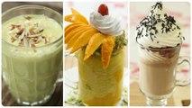 Summer Milkshake Recipes - Summer Drinks - Easy Milkshake For Summer - Best Summer Milkshake