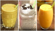 Summer Milkshake Recipes - Summer Drinks - Easy Milkshake For Summer - 3 Best Summer Milkshake
