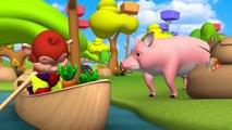 Les animaux le Plaisir de Jouer avec Chariot en Bois Curseur dans la Forêt pour Apprendre les Chiffres pour les Enfants - Grange et les Animaux de Zoo | Peony Noakes