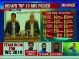 Indian Team for ICC World Cup 2019: Vijay Shanker, Dinesh Karthik included, Pant & Rayudu dropped