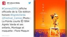 Festival de Cannes. L'affiche de la 72e édition, un hommage à l'audace d'Agnès Varda