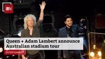 Queen Is Going On Tour With Adam Lambert