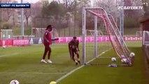 Franck Ribéry, inarrêtable à l'entraînement du Bayern Munich