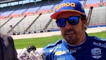 2019 IndyCar Test for Fernando Alonso in Texas