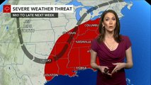 Severe storms to ignite across central US at midweek