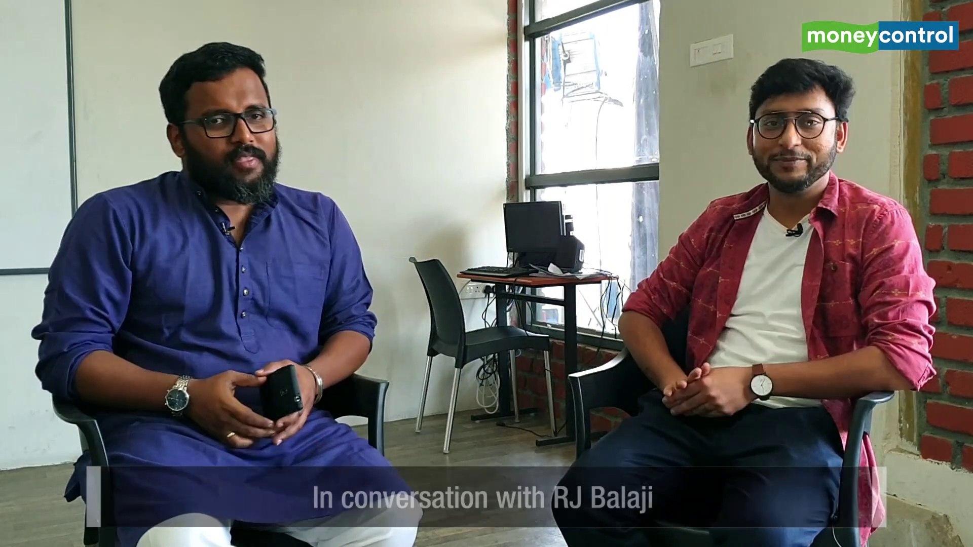 Political Bazaar   RJ Balaji on activism, political literacy and reformation