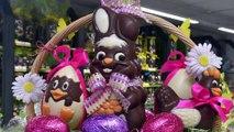 DNA - A la Confiserie des Rohan, lapins en chocolat à la chaîne