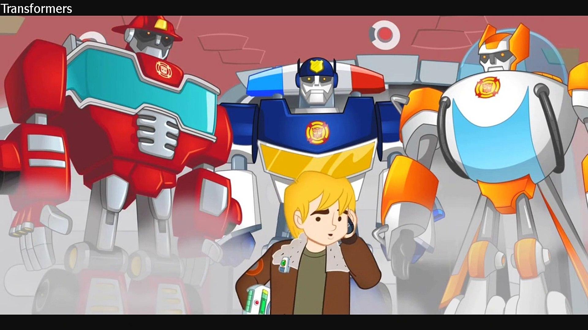 Transformers Rescue Bots - S01E11 - Return of the Dino Bot