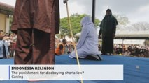 Disobeying sharia law in Indonesia's Aceh district