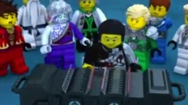 LEGO NinjaGo Masters of Spinjitzu S03E08 The Titanium Ninja