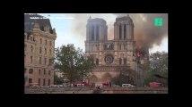Notre Dame de Paris en flammes, les images de l'impressionnant incendie