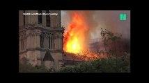 Notre-Dame de Paris en flammes, les images de l'impressionnant incendie