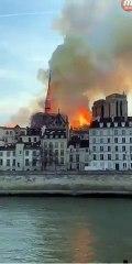 9357cc53dcd8c INCENDIE le clocher de La cathédrale Notre-Dame de Paris s effondre