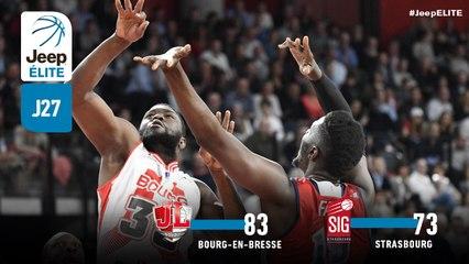 Jeep® ÉLITE : Bourg-en-Bresse vs Strasbourg (J27)