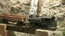 Superb Model Railroad of a Forest Railway on Vancouver Island in Canada in HO Scale - Video by Pilentum Television - The world of model trains