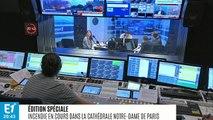 """Incendie à Notre-Dame de Paris : """"C'est notre âme, c'est notre histoire qui brûle"""", se lamente Stéphane Bern"""