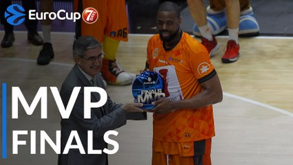 Finals MVP: Will Thomas, Valencia Basket