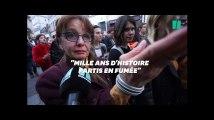 """Notre-Dame de Paris, """"Mille ans d'histoire partis en fumée"""", les Parisiens sous le choc"""