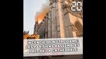 Incendie à Notre Dame: Entre tristesse et stupéfaction, les Parisiens choqués
