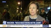 """""""On n'arrive pas à réaliser, pour moi c'est la fin d'une époque"""", témoigne cette Parisienne face à l'incendie de Notre-Dame de Paris"""