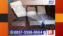 0857-5596-9664, Kursi Santai Rotan Ruang Keluarga, Kursi Santai Rotan Single, Kursi Santai Rotan Sintetis