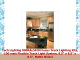 Tech Lighting 800RAL5FCN Focus Track Lighting Kits 100 watt Flexible Track Light System