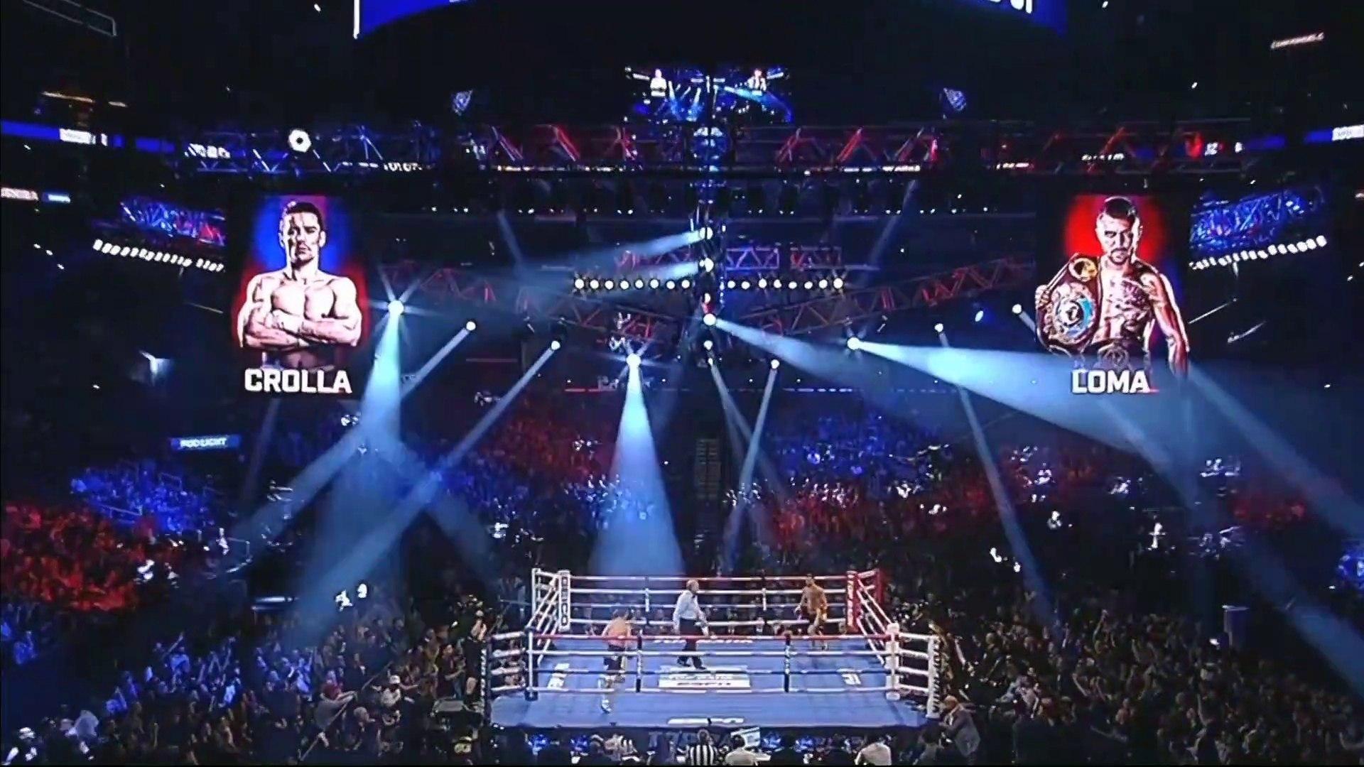 VASYL LOMACHENKO vs ANTHONY CROLLA Full Fight 12 April 2019 (English)