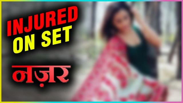 This Nazar Actress Gets INJURED On Set | Mohana, Piya, Ansh