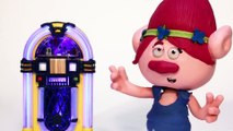 Princess Poppy Can't Dance Anymore! | Play Doh Stop Motion |  Trolls fll mvie  Crafty Kids