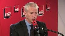 """Franck Riester, ministre de la Culture, déplore """"un drame terrible en matière patrimoniale, une charpente du XIIe siècle parti en fumée"""""""