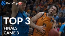 7DAYS EuroCup Finals Game 3 Top 3 Plays