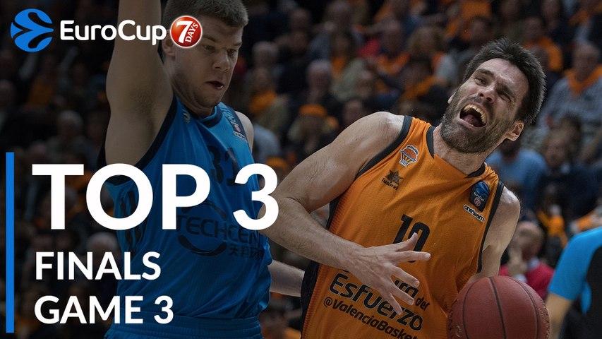 7DAYS EuroCup Finals Game 3 Top 3 Plays