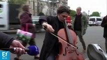 VIDÉO - Incendie à Notre-Dame : l'hommage du violoncelliste Gautier Capuçon sur Europe 1