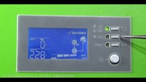 1.2 Kw Inverex [Hinde]Solar Hybrid Inverter Setting! Solar Inverter Setting In Urdu - YouTube