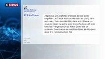 Incendie à Notre-Dame de Paris : les réactions