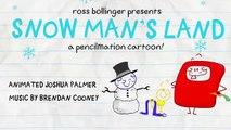Crayon Amusant a un Crise! - HOMME de NEIGE'S, TERRE - Animation Dessins animés pour les Enfants