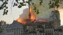 La flèche de Notre-Dame a survécu à deux guerres mondiales, mais pas à l'incendie