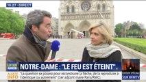 """Valérie Pécresse: """"Si Paris se réveille avec Notre-Dame toujours debout, c'est aux pompiers de Paris que nous le devons"""""""