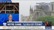 """Notre-Dame: pour l'historien de l'art, Alexandre Gady, """"toute l'eau qui a été lancée sur la cathédrale va se retourner contre la cathédrale"""""""