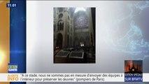 De nouvelles images de l'intérieur de Notre-Dame montrent l'un de ses plus beaux vitraux encore intact