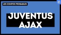 Juventus - Ajax Amsterdam : les compositions probables