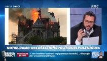 """Spéciale Notre Dame - Jean-Jacques Bourdin: """"Lydia Guirous c'est une imbécile. (...) Il faut être complètement imbécile pour balancer un tweet qui explique qu'il faut aller chercher des Canadairs"""" - VIDEO"""