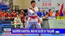 Dagupeño karateka, wagi ng silver sa Thailand