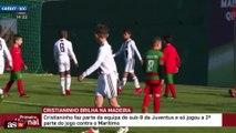 Le festival de Cristiano Junior avec les U9 de la Juve au tournoi de Madère