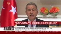 Milli Savunma Bakanı Hulusi Akar'dan S-400 ve F-35 açıklaması