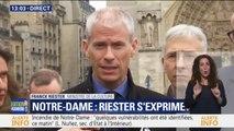 """Notre-Dame: Franck Riester assure que """"les œuvres les plus précieuses ont été mises en sécurité à l'Hôtel de Ville de Paris dès hier soir"""""""