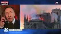 Notre-Dame de Paris en flammes : Stéphane Bern au bord des larmes (vidéo)