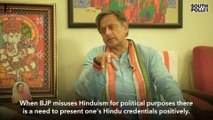 In conversation with Shashi Tharoor