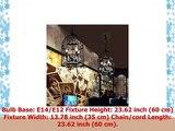 Ruanpu Industrial 1378 4 Lights Pendant Retro Chandelier Vintage Ceiling light lamp Bird